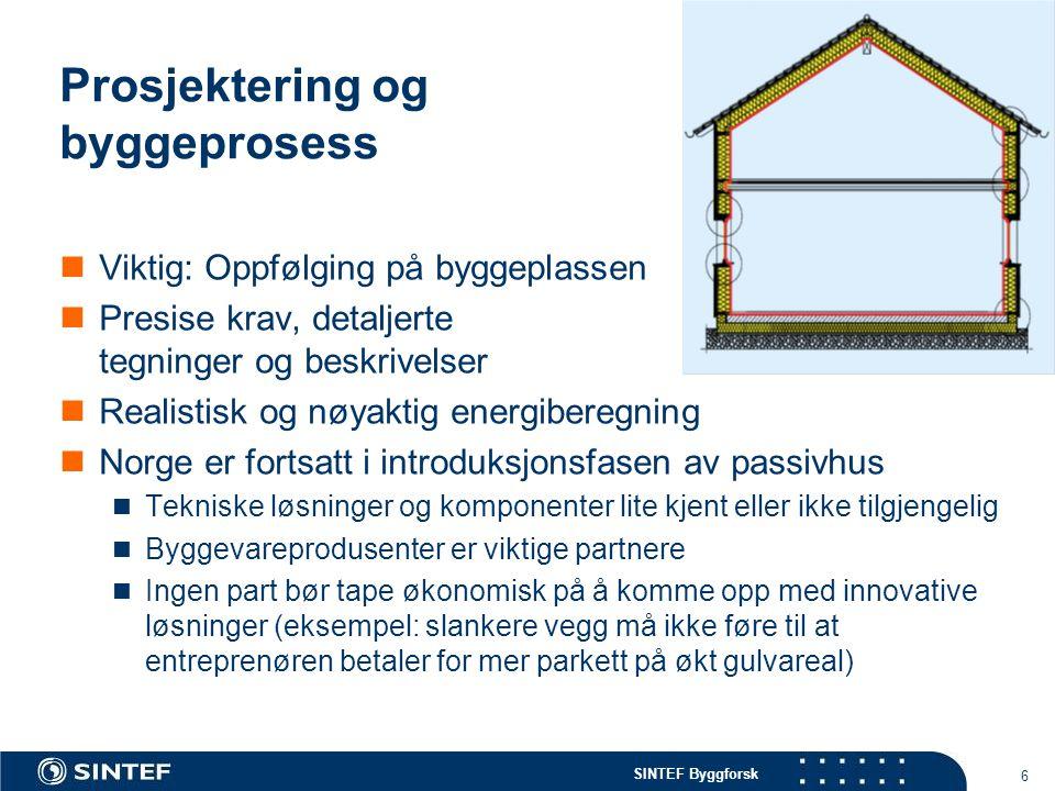Prosjektering og byggeprosess
