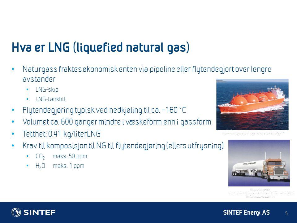 Hva er LNG (liquefied natural gas)