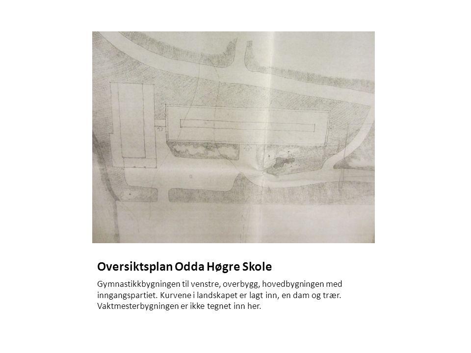 Oversiktsplan Odda Høgre Skole