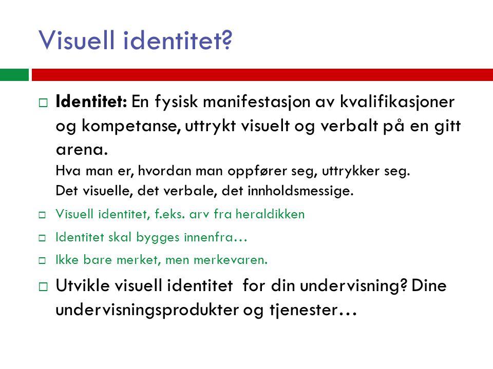 Visuell identitet