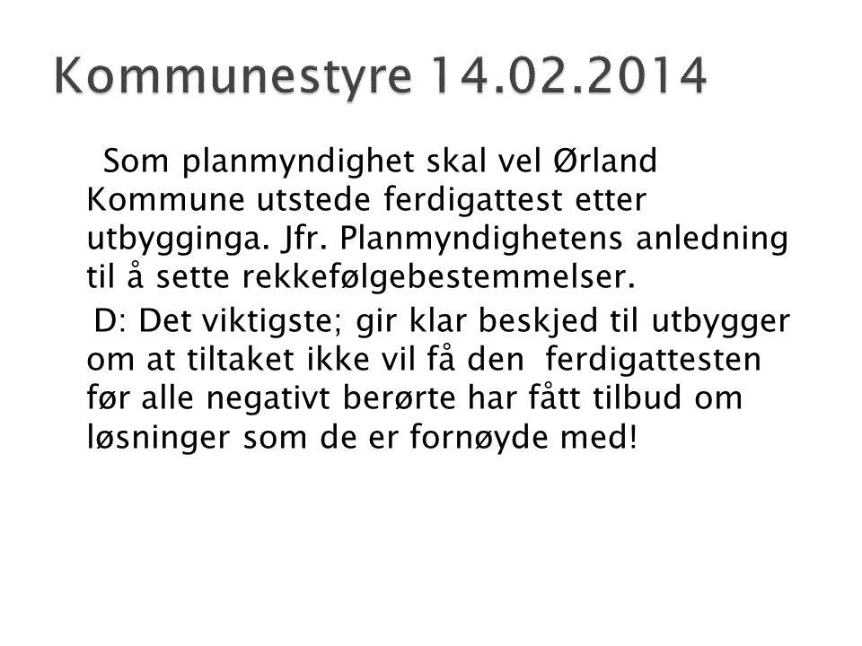 Kommunestyre 14.02.2014