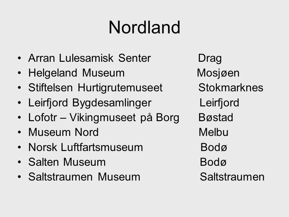 Nordland Arran Lulesamisk Senter Drag Helgeland Museum Mosjøen