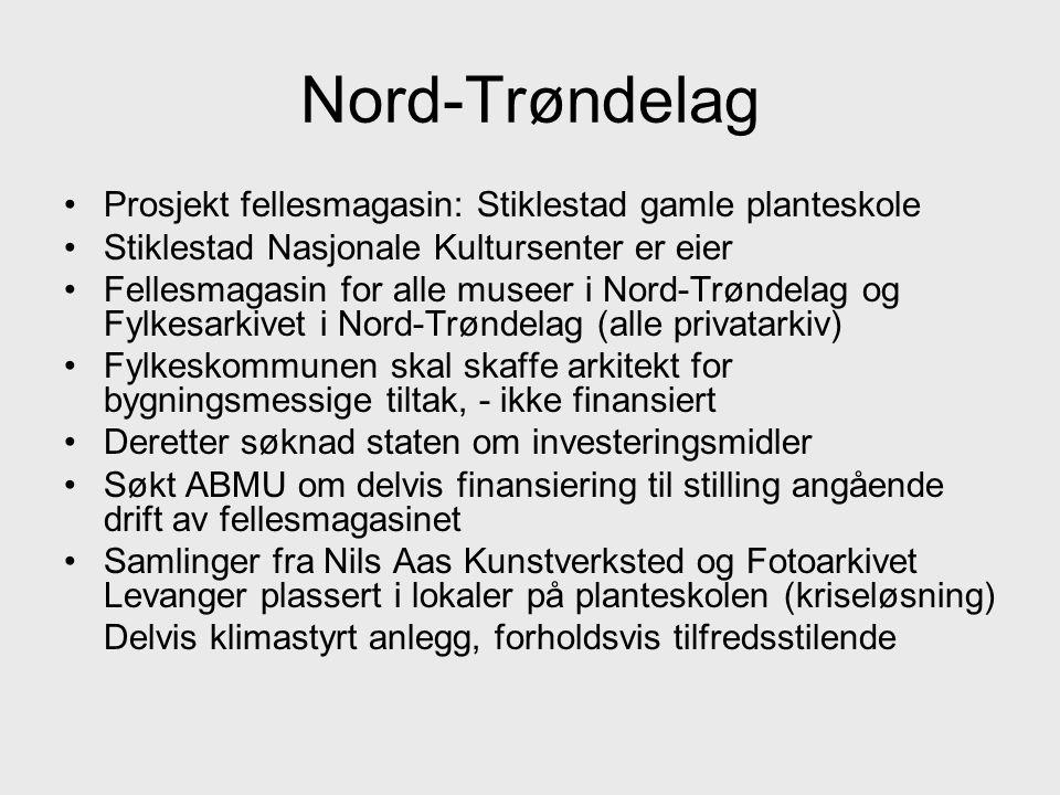 Nord-Trøndelag Prosjekt fellesmagasin: Stiklestad gamle planteskole