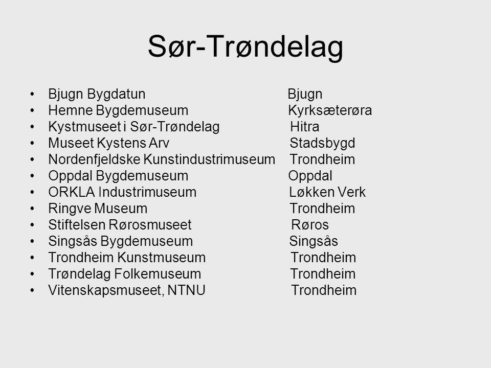 Sør-Trøndelag Bjugn Bygdatun Bjugn Hemne Bygdemuseum Kyrksæterøra