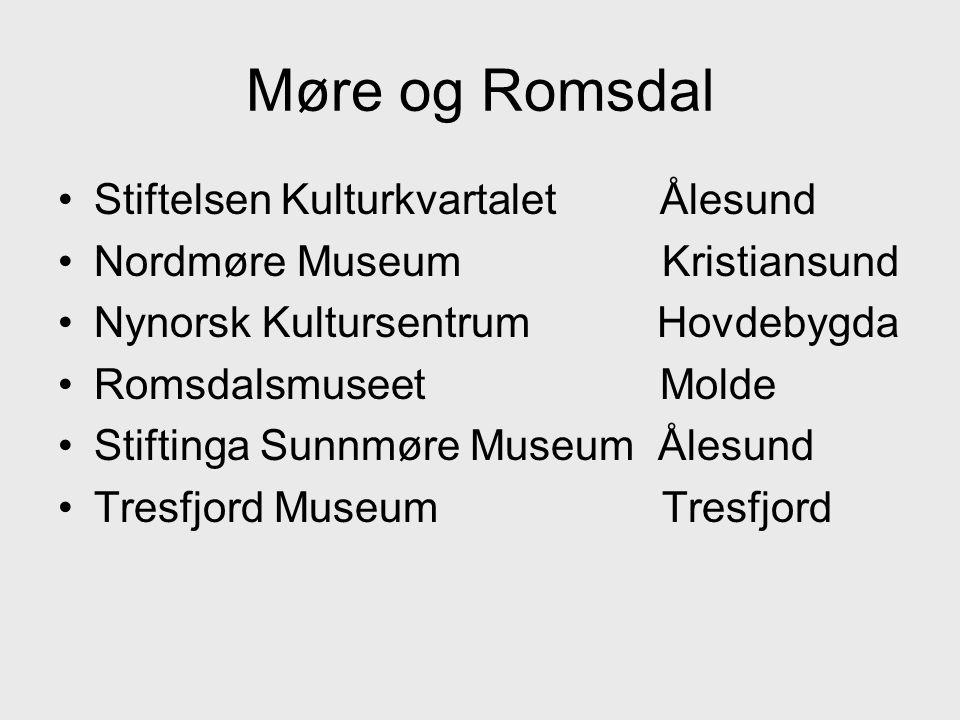 Møre og Romsdal Stiftelsen Kulturkvartalet Ålesund