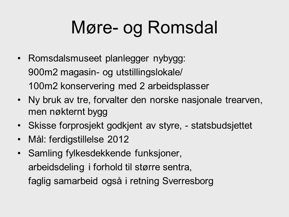 Møre- og Romsdal Romsdalsmuseet planlegger nybygg: