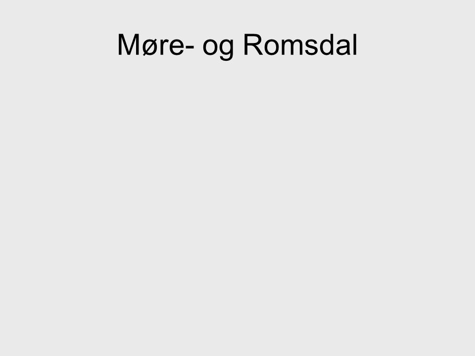 Møre- og Romsdal