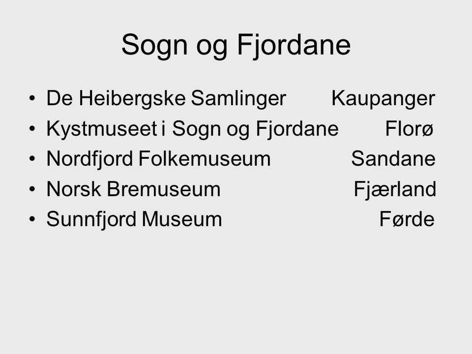 Sogn og Fjordane De Heibergske Samlinger Kaupanger