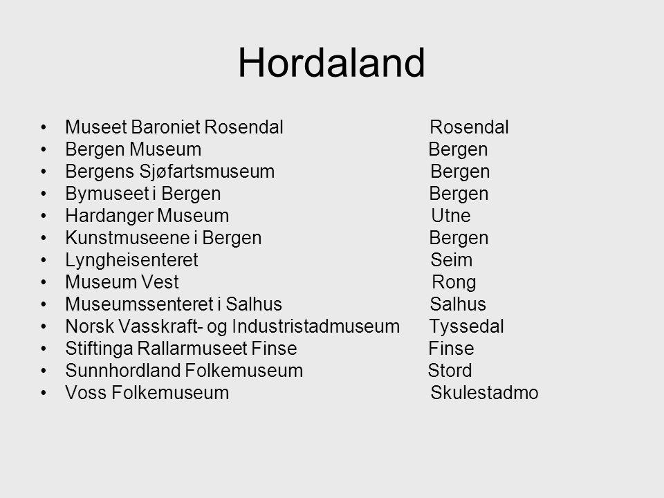 Hordaland Museet Baroniet Rosendal Rosendal Bergen Museum Bergen