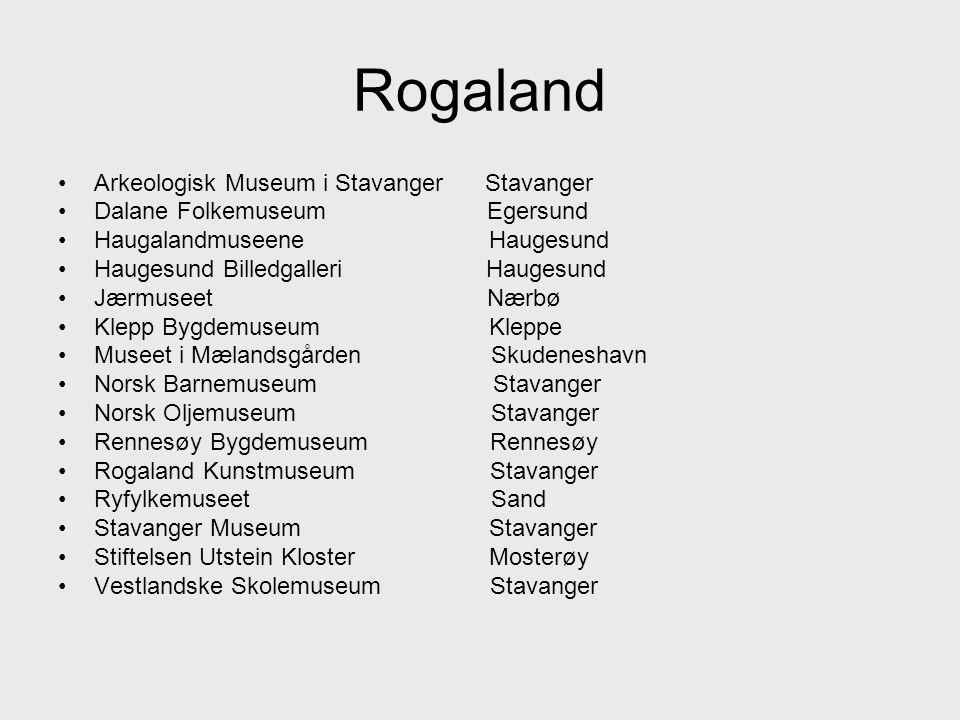Rogaland Arkeologisk Museum i Stavanger Stavanger
