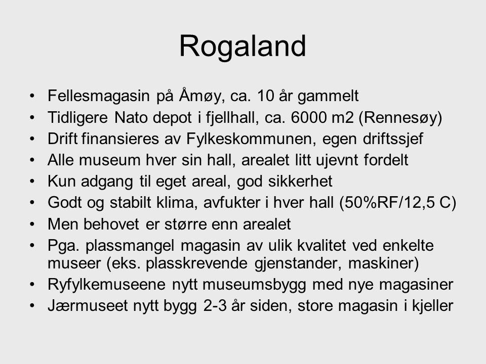 Rogaland Fellesmagasin på Åmøy, ca. 10 år gammelt