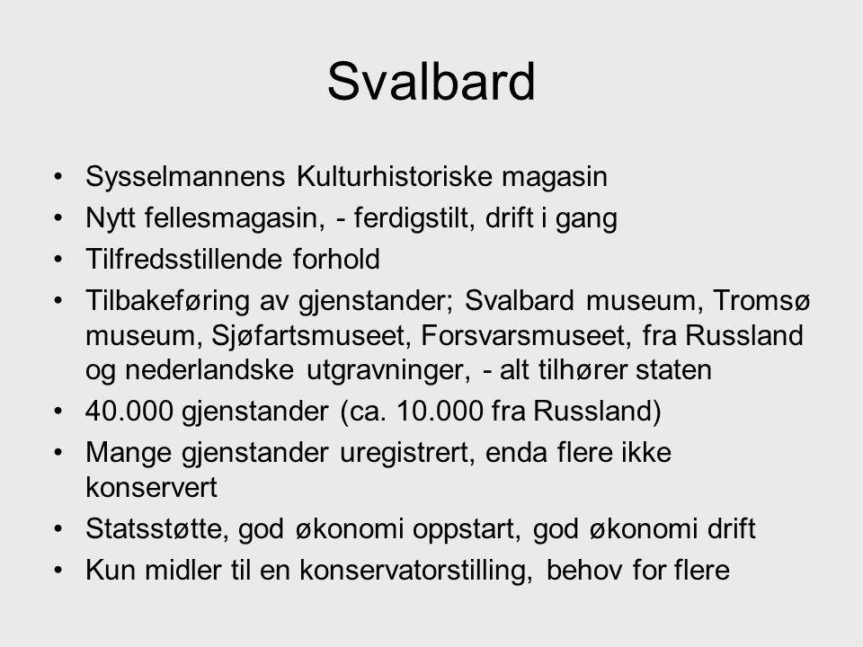 Svalbard Sysselmannens Kulturhistoriske magasin