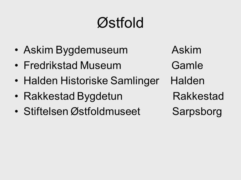 Østfold Askim Bygdemuseum Askim Fredrikstad Museum Gamle
