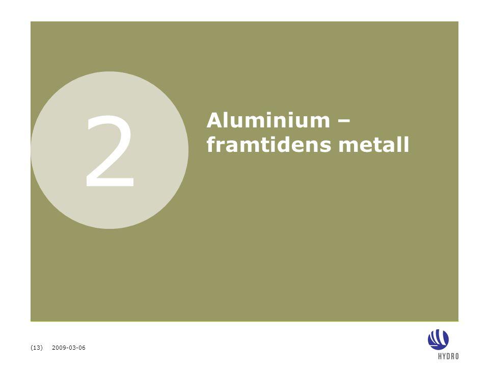 2 Aluminium – framtidens metall