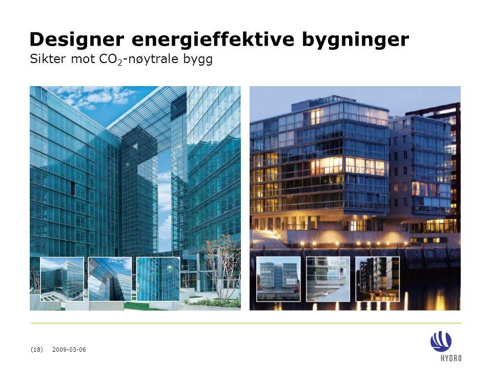 Designer energieffektive bygninger