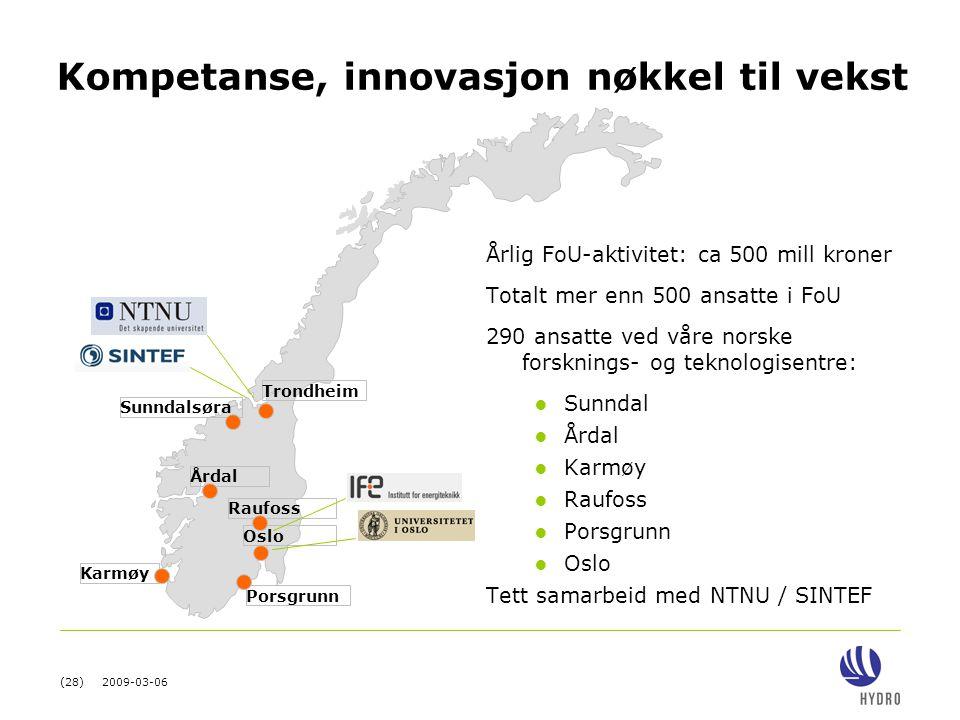 Kompetanse, innovasjon nøkkel til vekst