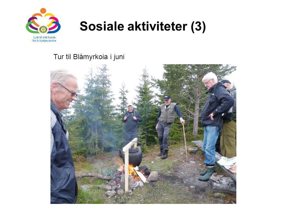 Sosiale aktiviteter (3)