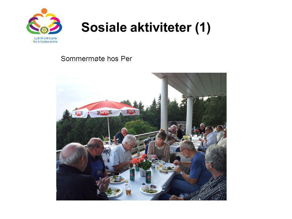 Sosiale aktiviteter (1)