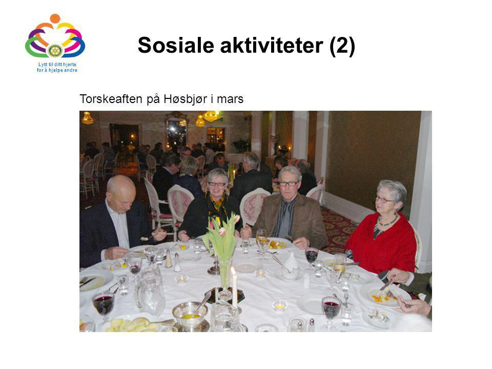 Sosiale aktiviteter (2)