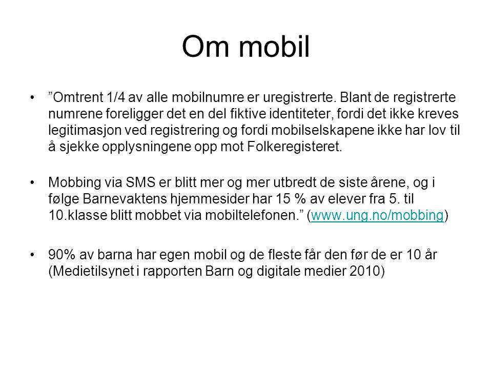 Om mobil
