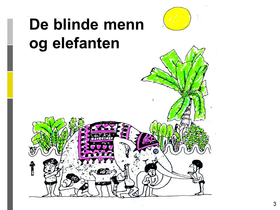 De blinde menn og elefanten
