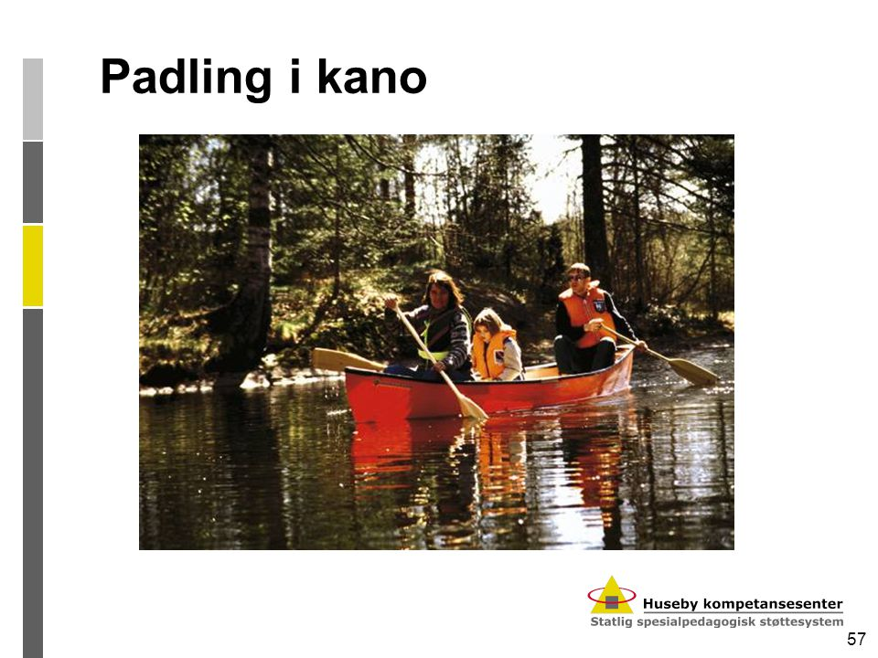 Padling i kano