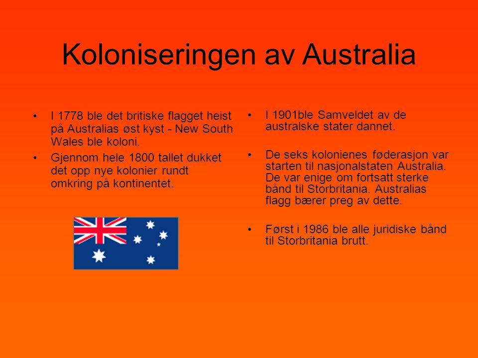 Koloniseringen av Australia
