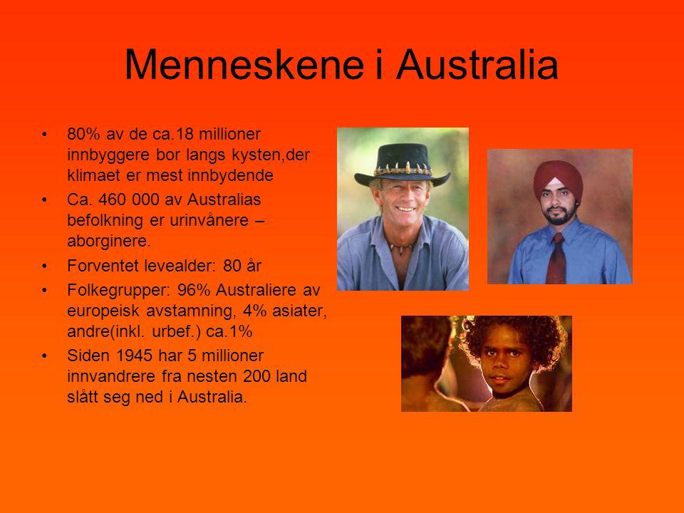 Menneskene i Australia