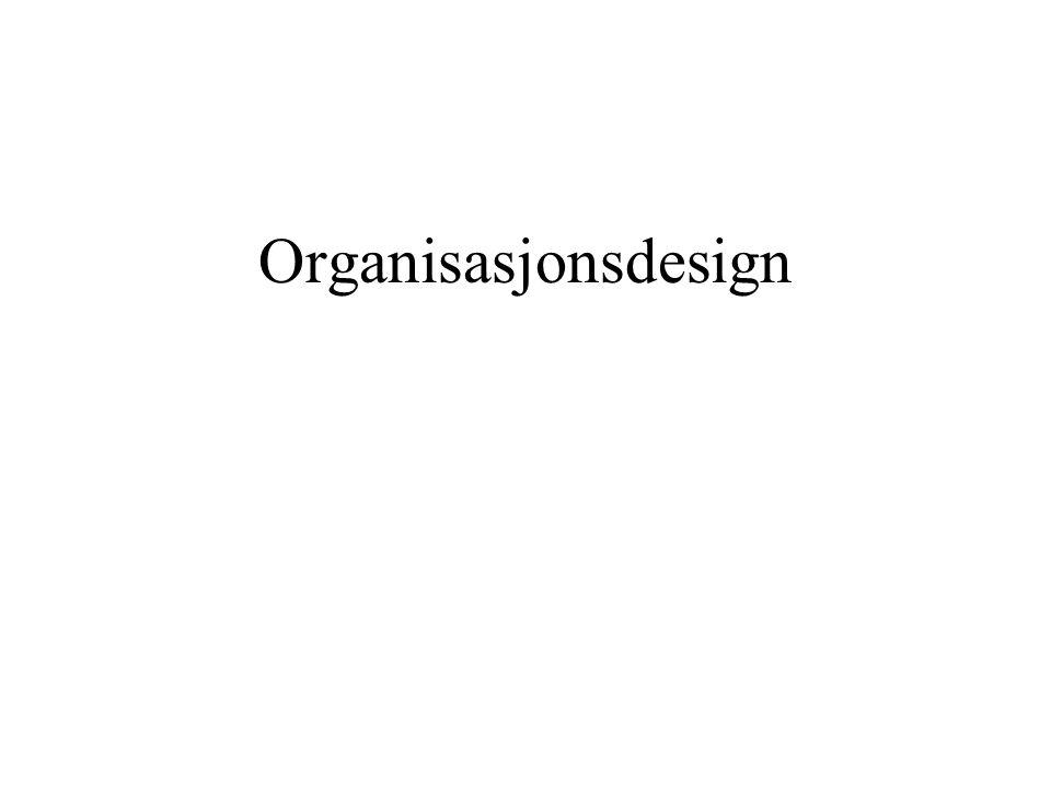 Organisasjonsdesign