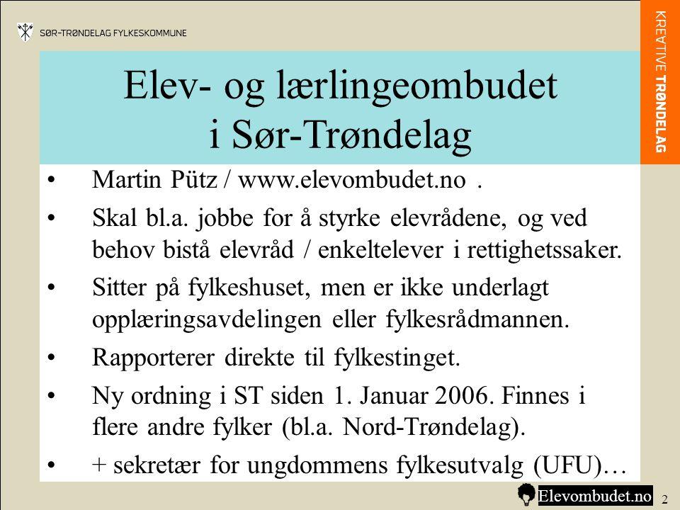Elev- og lærlingeombudet i Sør-Trøndelag