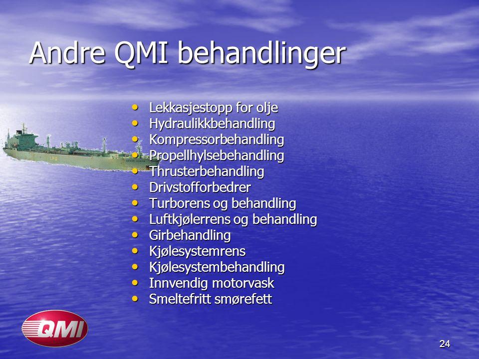 Andre QMI behandlinger