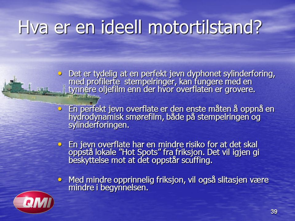 Hva er en ideell motortilstand