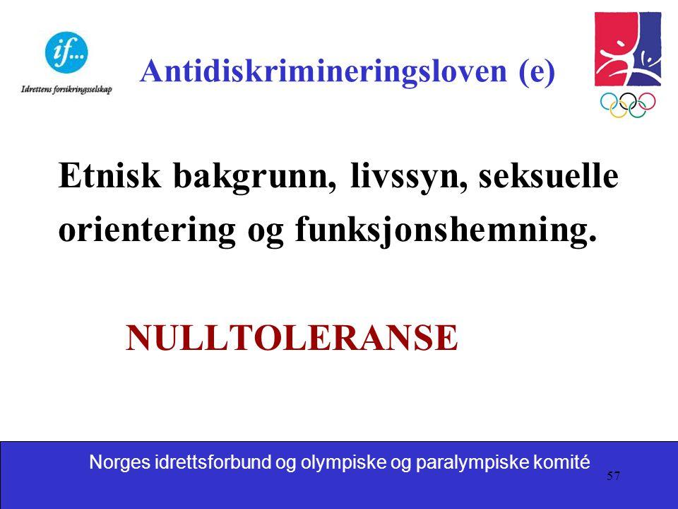 Antidiskrimineringsloven (e)