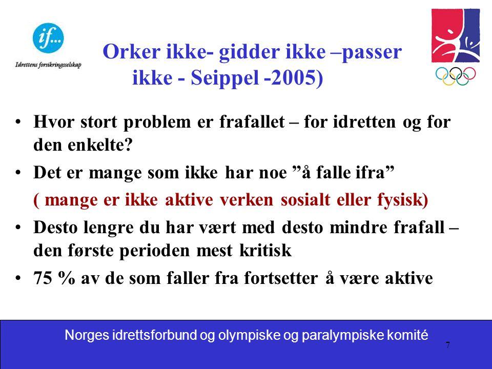 Orker ikke- gidder ikke –passer ikke - Seippel -2005)