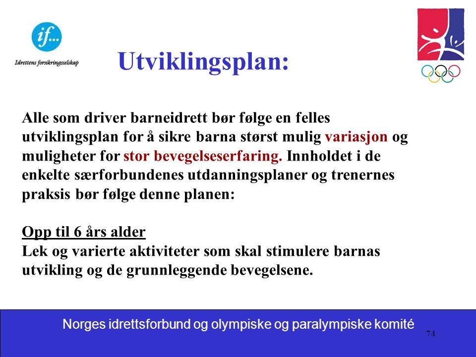 Utviklingsplan: