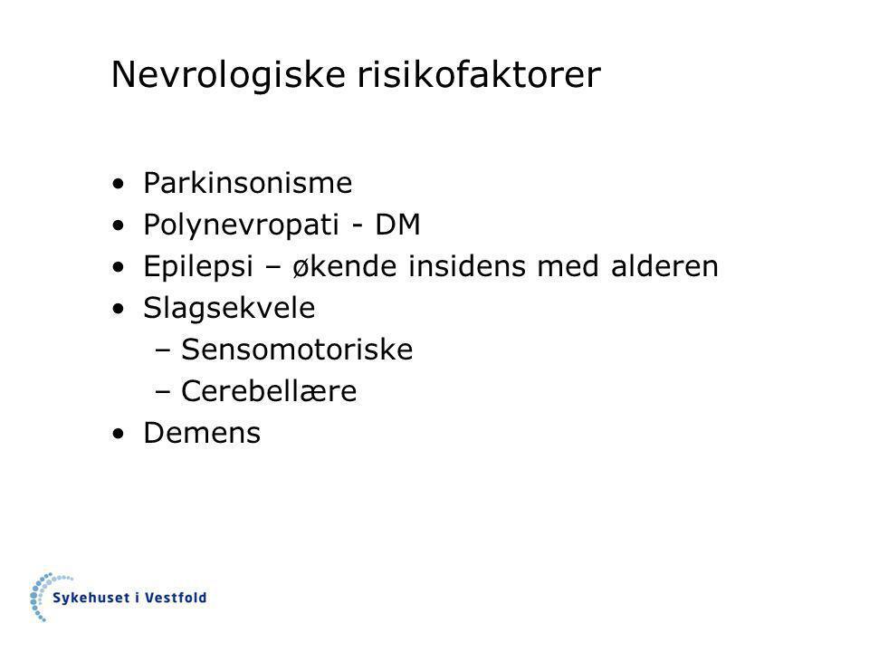 Nevrologiske risikofaktorer