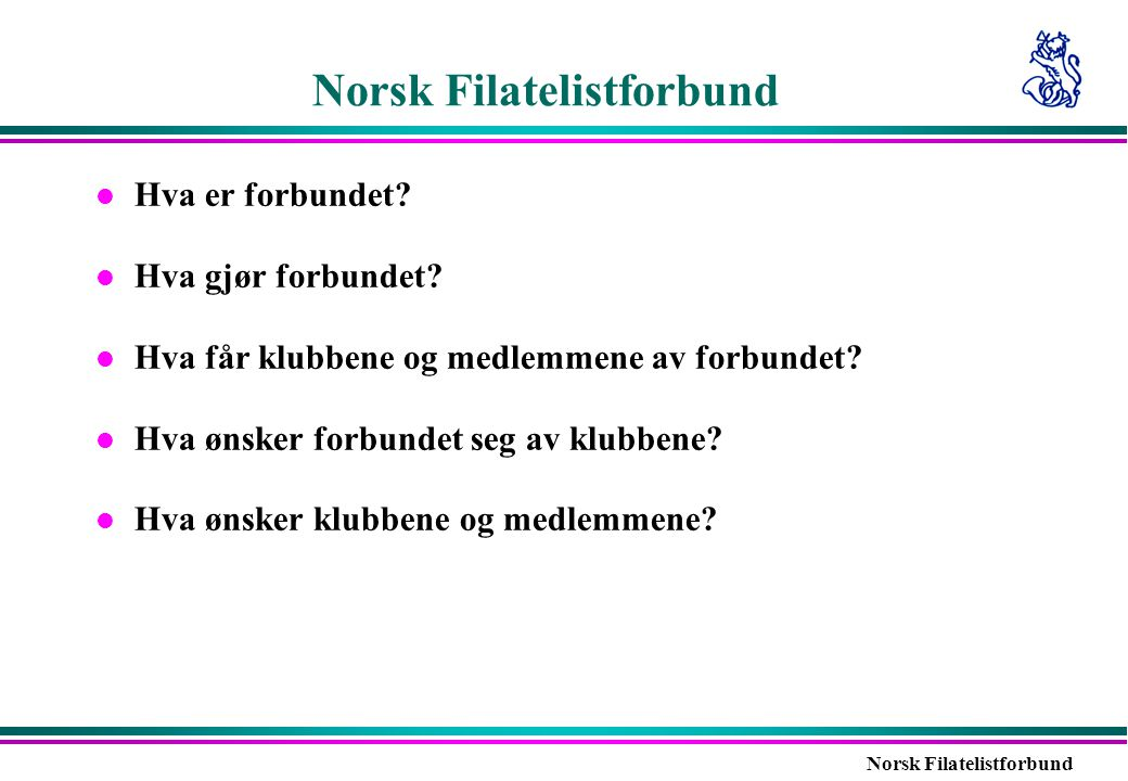 Norsk Filatelistforbund