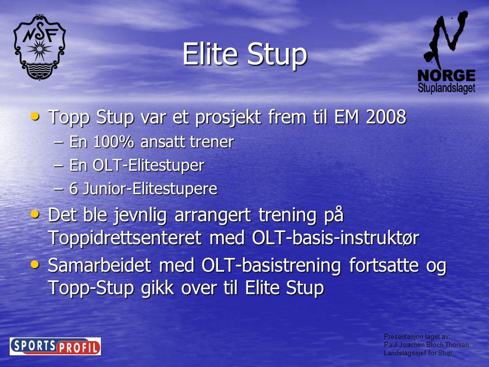 Elite Stup Topp Stup var et prosjekt frem til EM 2008