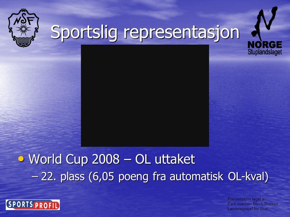 Sportslig representasjon