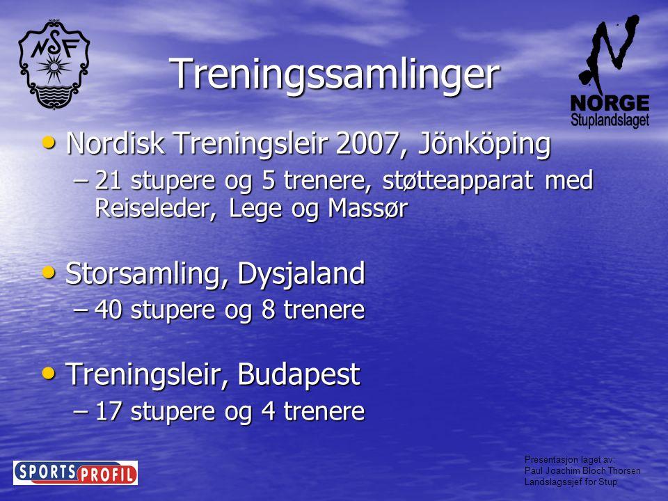 Treningssamlinger Nordisk Treningsleir 2007, Jönköping