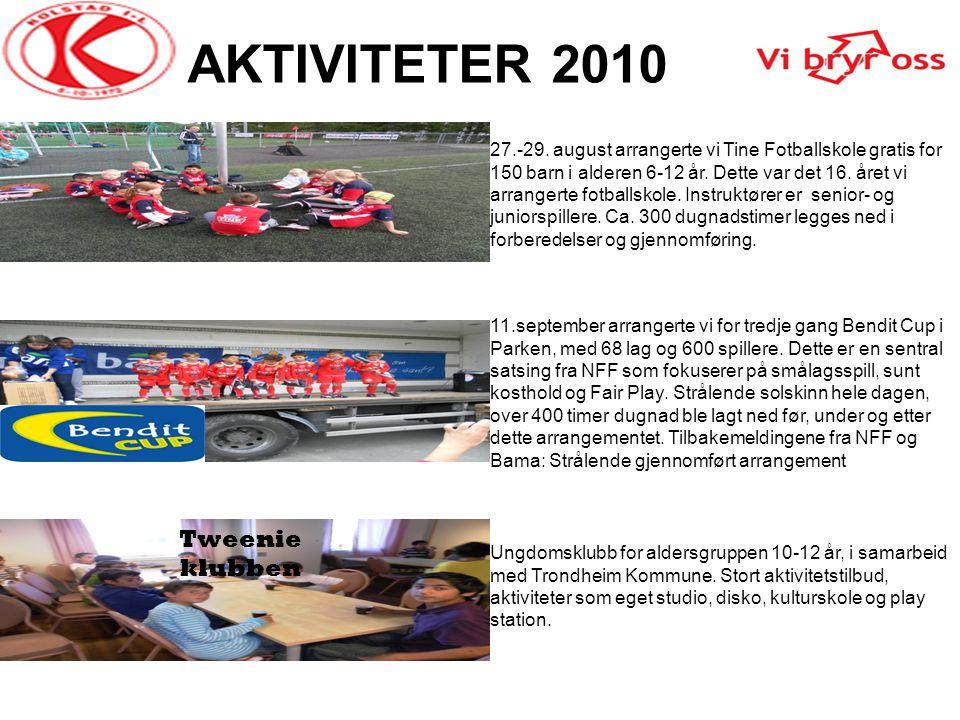 AKTIVITETER 2010 Tweenie klubben