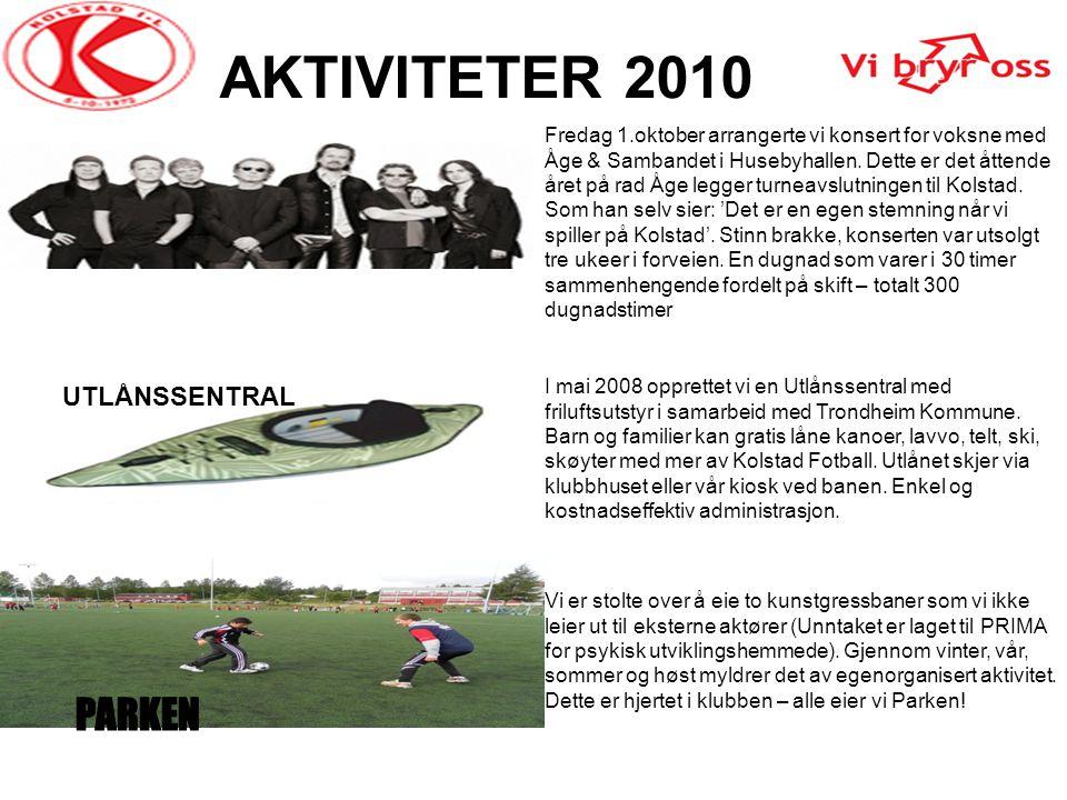 AKTIVITETER 2010 PARKEN UTLÅNSSENTRAL