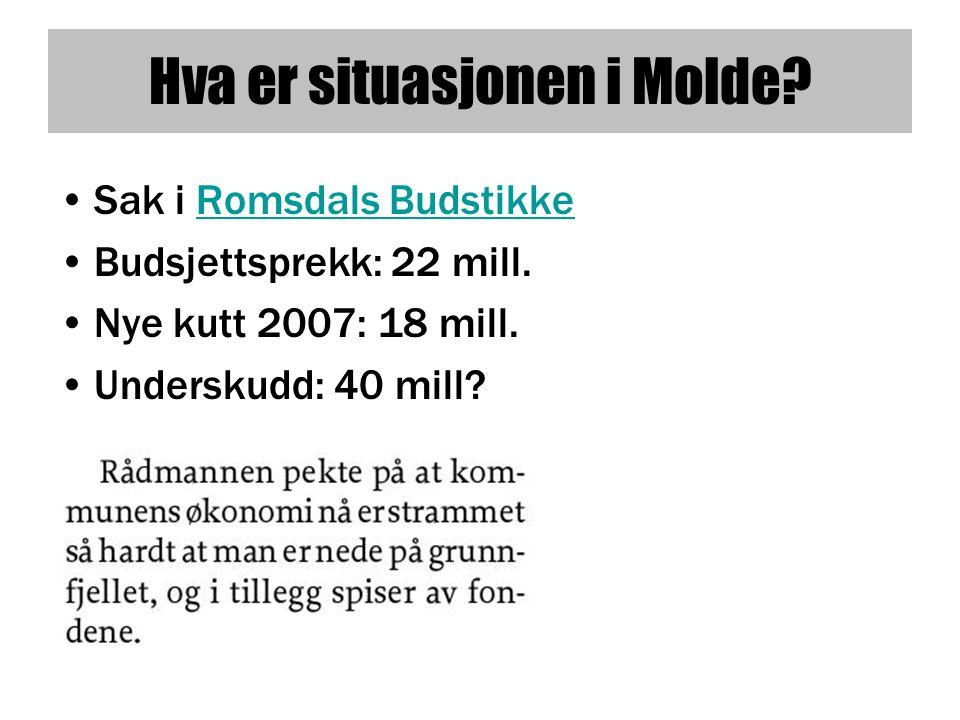 Hva er situasjonen i Molde