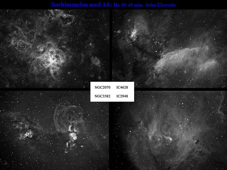 Sørhimmelen med A6: Ha 30-40 min, John Ebersole