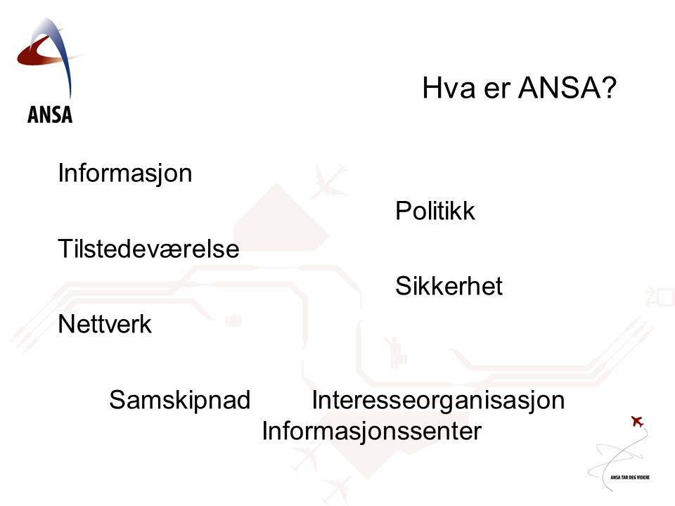 Hva er ANSA.