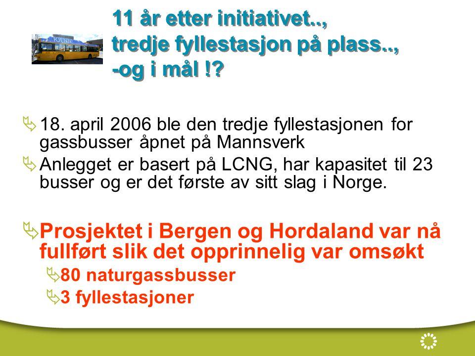 11 år etter initiativet.., tredje fyllestasjon på plass.., -og i mål !