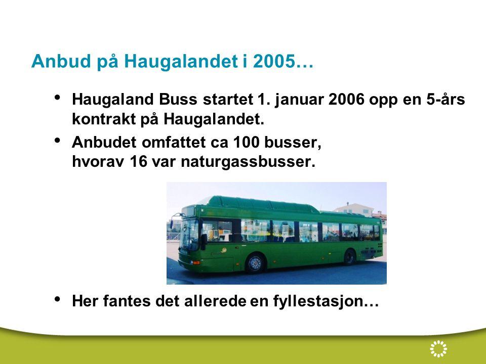 Anbud på Haugalandet i 2005…