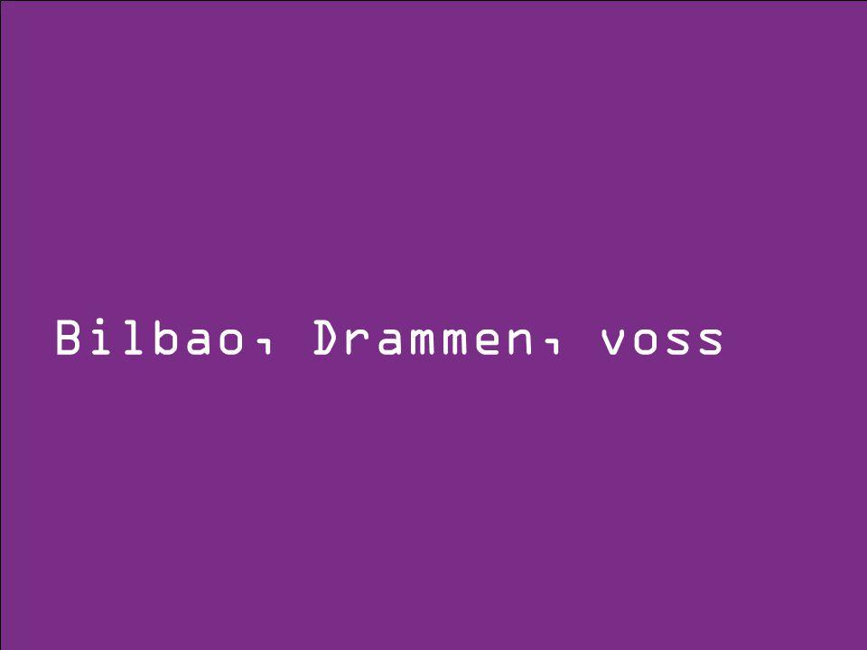 Bilbao, Drammen, voss