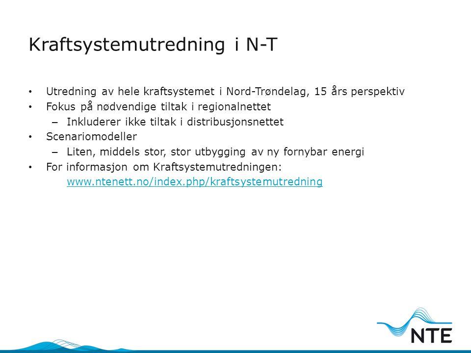 Kraftsystemutredning i N-T
