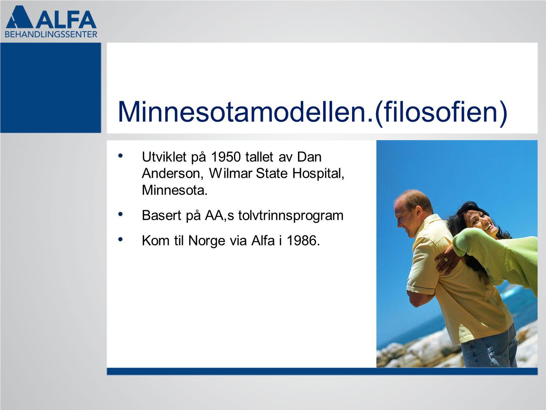 Minnesotamodellen.(filosofien)